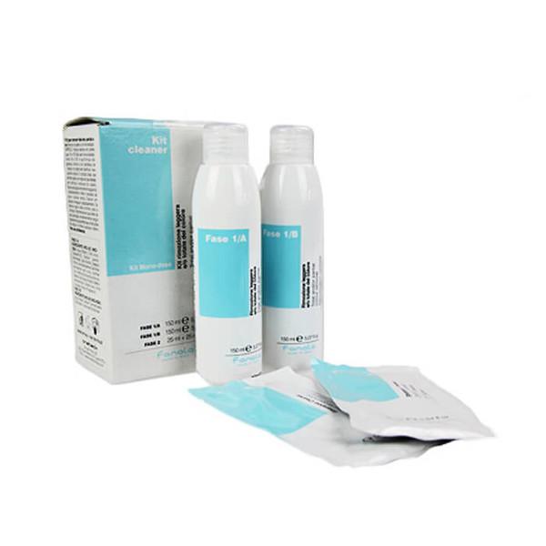Система для удаления искусственного пигмента с волос Fanola Kit Cleaner Colour Remover Kit 300 мл