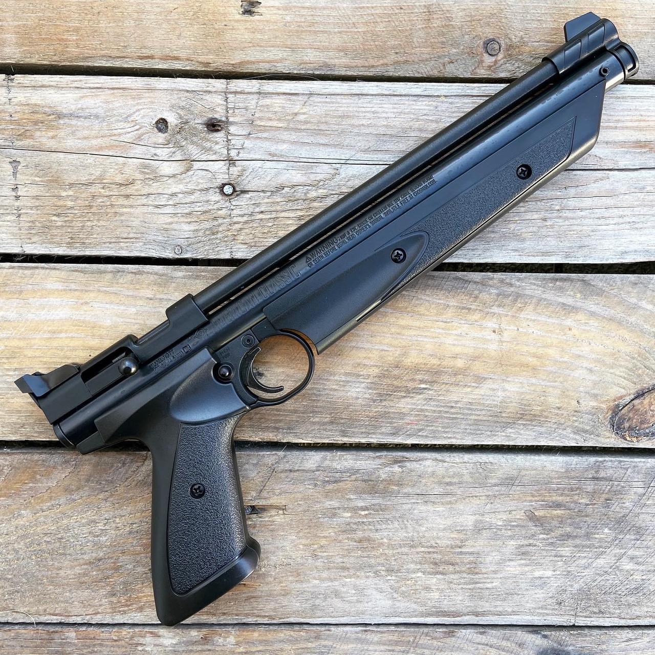 Пневматический пистолет Crosman American Classic 1377 (Black)