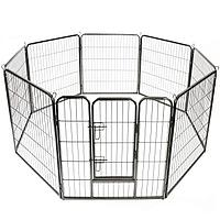 Металлический манеж для собак и щенков Dog Land вольер для собак, высота 60 см