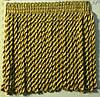 Бахрома золотиста люрикс 7 см