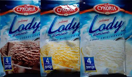 Мороженое сухое Cykoria (сливки-сметанка) 60г, фото 2