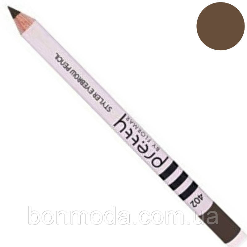 "Карандаш для бровей Flormar Pretty Styler Eyebrow Pencil ""Auburn"" № 402"