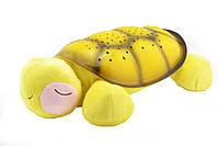 Проектор ночного неба музыкальный Snail Twilight Turtle Желтый hubnp21006, КОД: 1485902