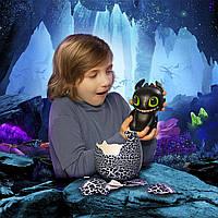 Интерактивный дракон Беззубик в яйце Хетчималс Hatching Toothless Spin Master оригинал, фото 1