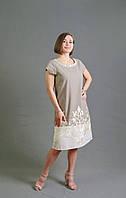 Женское платье свободного силуэта от производителя из натуральной ткани