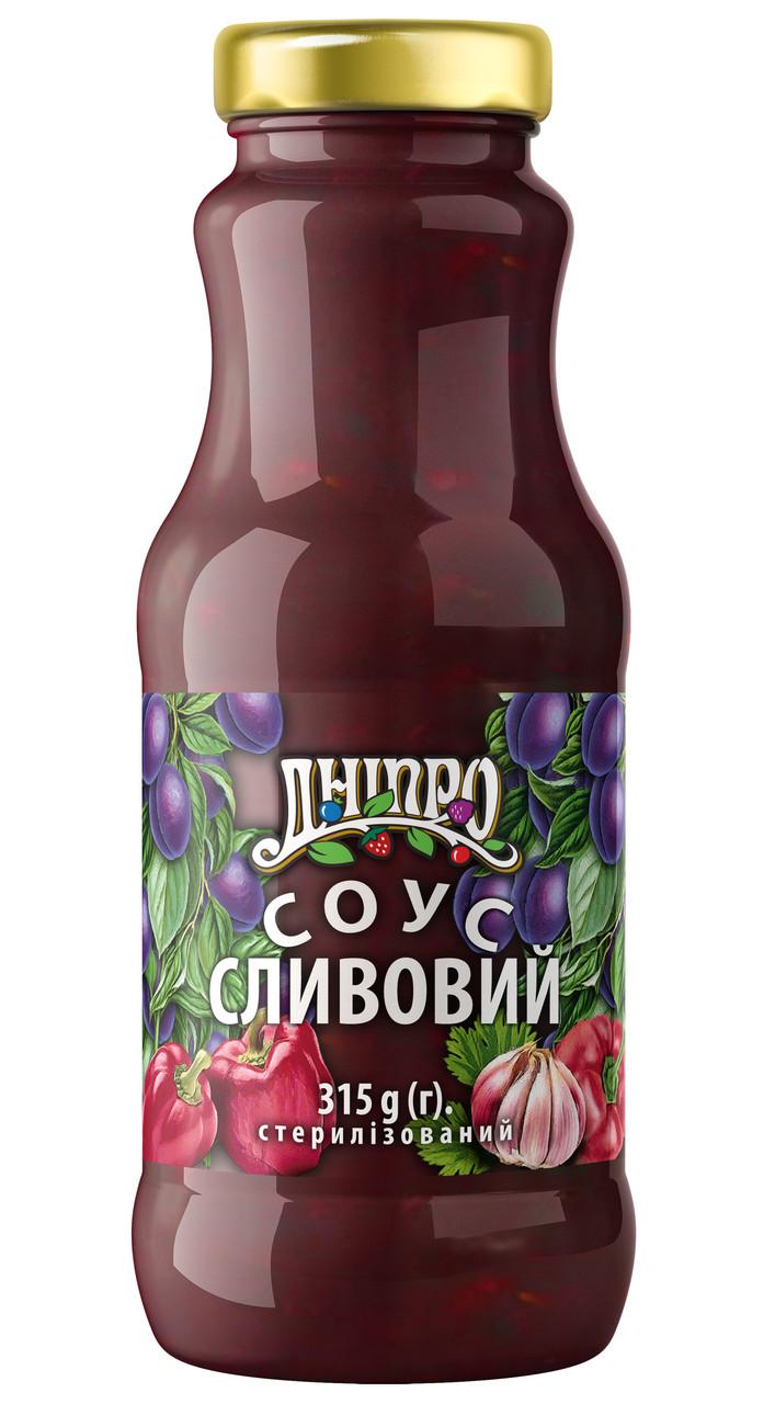 Соус Дніпро Сливовый 315г
