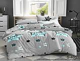 1,5-спальный комплект постельного белья Сатин люкс ТМ TAG., фото 2