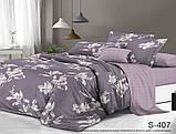 1,5-спальный комплект постельного белья Сатин люкс ТМ TAG., фото 4