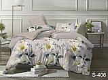 1,5-спальный комплект постельного белья Сатин люкс ТМ TAG., фото 5