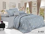 1,5-спальный комплект постельного белья Сатин люкс ТМ TAG., фото 8
