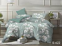 Двуспальный комплект постельного белья Сатин люкс ТМ TAG.