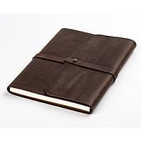 Кожаный блокнот XS. Софтбук А6. Блокнот в кожаной обложке