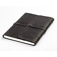 Кожаный блокнот S. Софтбук B6. Блокнот в кожаной обложке ручной работы