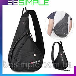 Городской рюкзак SwissGear Sling NEW (Слинг) через плечо новий