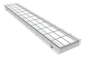 LED светильник для спортзала 40W 4000/6000K M-SP-FR 600-40