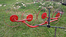 Ворошилки для минитрактора (колесо Ø900мм, спица Ø4мм)