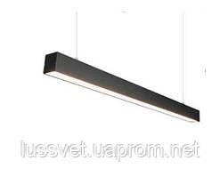 Светодиодный светильник на тросах 50W LS-Led 1160mm черный белый