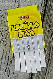 Мел Белый 6 шт. В коробке 51508-ТК 90365 Tiki