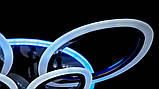 Потолочная люстра с диммером и LED подсветкой A8059/5+5BHR LED 3color dimmer, фото 8
