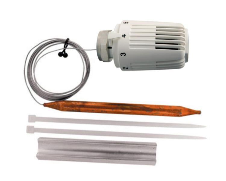 Термоголовка HERZ 1742100 с выносным датчиком 40-70°С