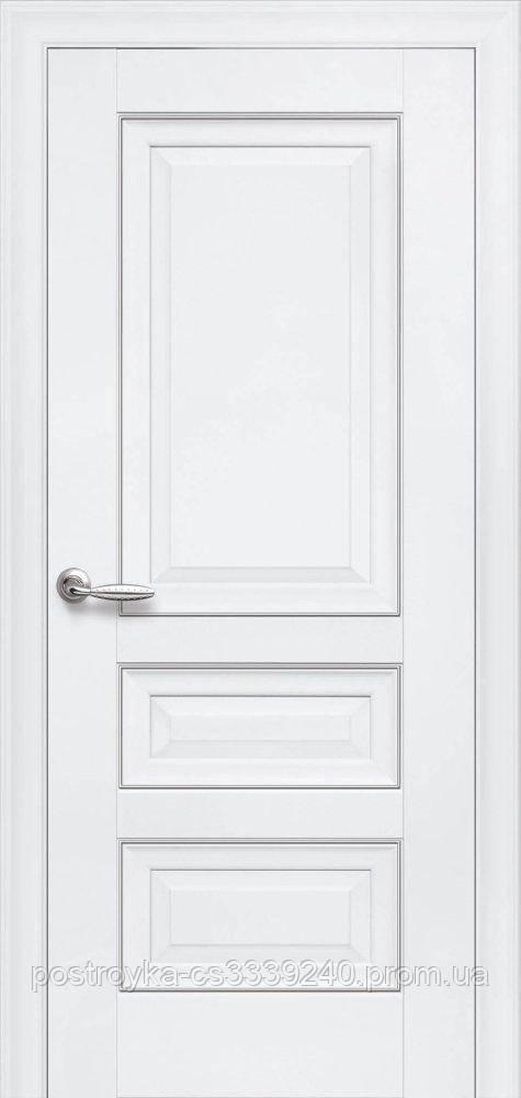 Двери межкомнатные Элегант Статус Новый Стиль ПВХ глухие  60, 70, 80, 90