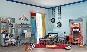 Дитяча кімната Блискавка Маквін «Тачки» Синій