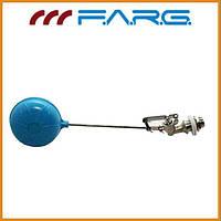 """Клапан поплавковый F.A.R.G 1/2"""" с пластиковым шаром"""