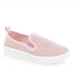 Мокасин для девочек Канарейка 27  розовые 981010
