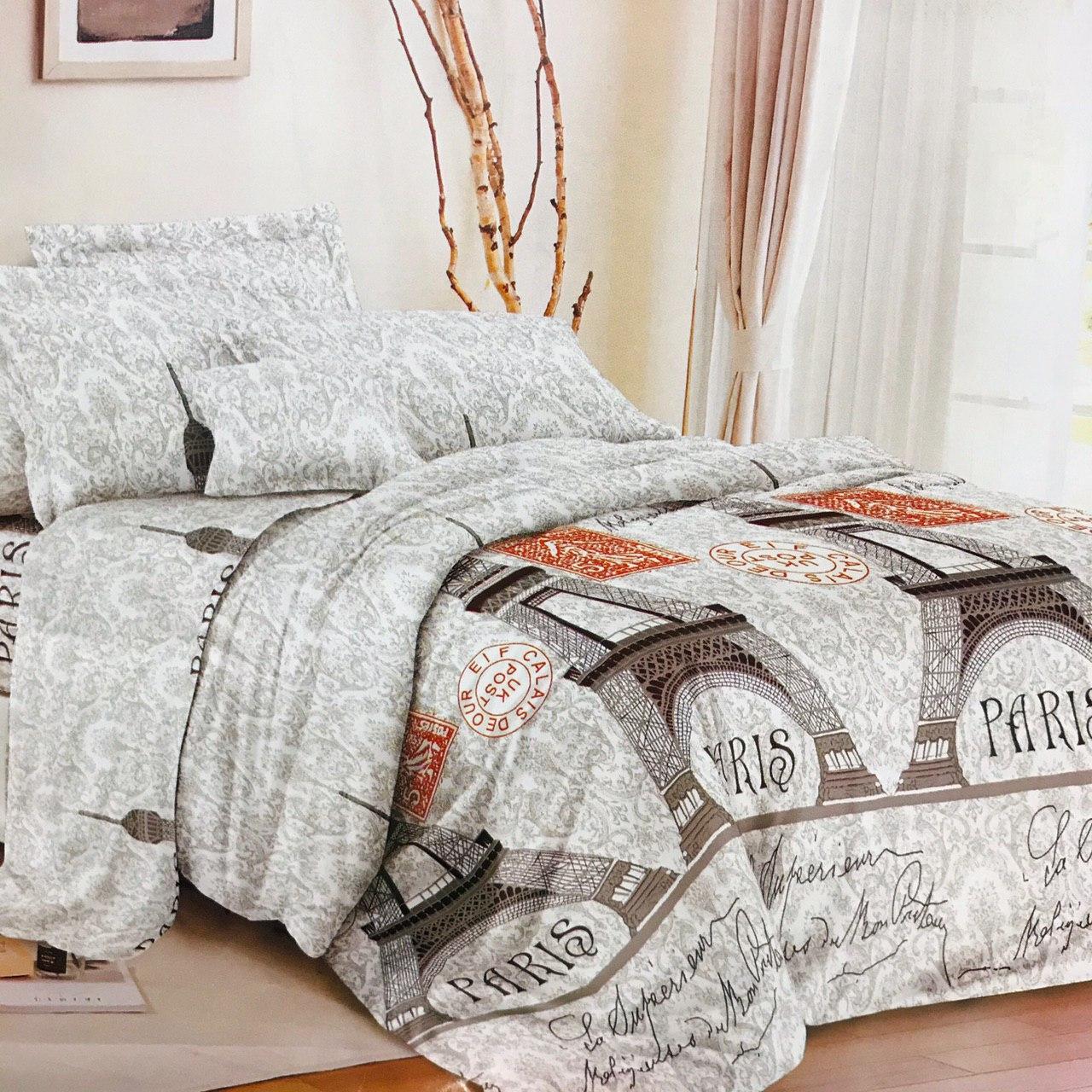 Комплект постельного белья GOLD сатин, семейный