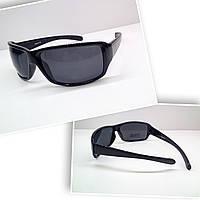 Мужские солнцезащитные  очки с  линзами polarized черные