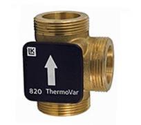 3-ходовой термостатический клапан LK 820 ThermoVar 61°C