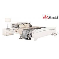 Деревянная Кровать Венеция щит Бук тм Estella 80х190