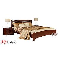 Деревянная Кровать Венеция-Люкс щит Бук тм Estella 80х190