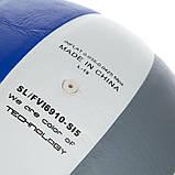 Мяч волейбольный Клееный PU FOX  (PU с сотами, №5, 5 сл., клееный) SD-V8000, фото 4