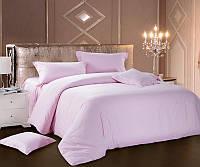 Комплект постельного белья Love You Евро Страйп-сатин 200х220 см Розовый (psg_LY-SS-PINK-2)