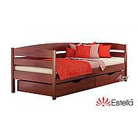 Деревянная Кровать Нота-Плюс щит Бук тм Estella 80х190