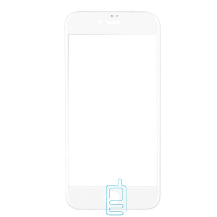 Защитное стекло 6D Apple iPhone 7 Plus, iPhone 8 Plus white тех.пакет