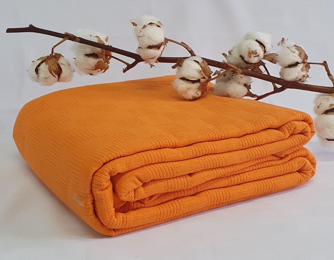 Летний плед Bella Carine 200x240 Orange