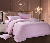 Комплект постельного белья Love You Евро Страйп-сатин 200х220 см Розовый (psg_LY-SS-SPINK-2)