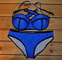 Купальник у стилі Триангл Синй Розмір М