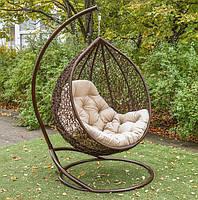 Подвесное кресло кокон Гарди Биг Шоколад