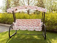 Садовые качели Аризона Премиум Розовая