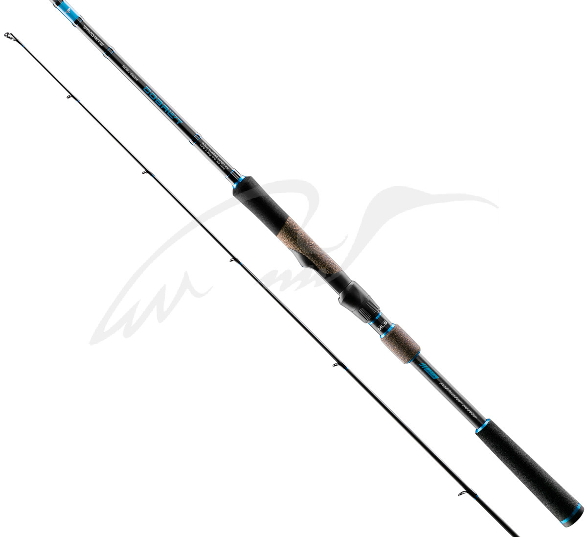 Спінінг Favorite SW Cobalt SCBL-802ML 2.44 m 5-18g PE #0.6-1.0 Mod.Fast