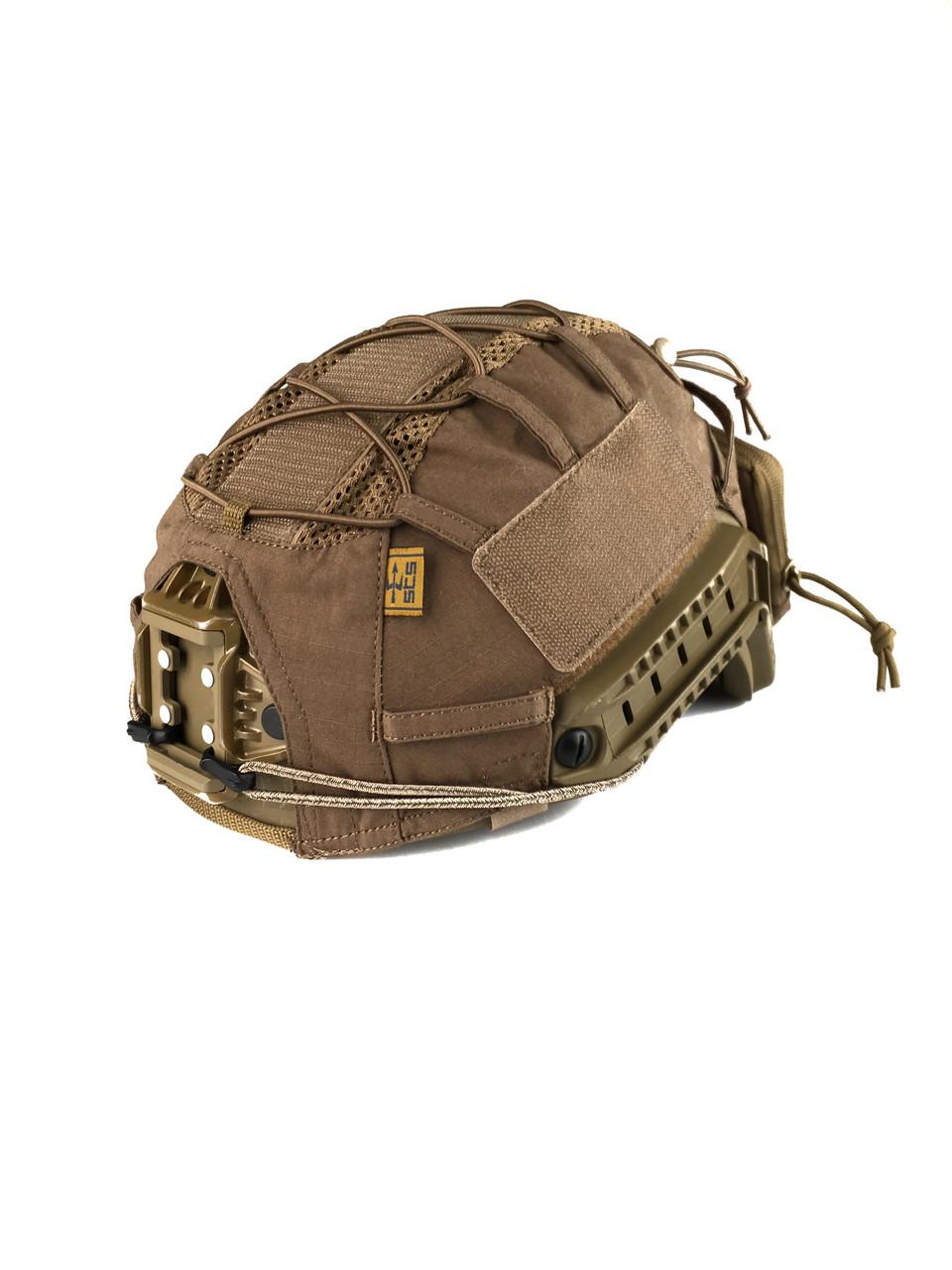 Кавер Fast Helmet w pocket Coyote