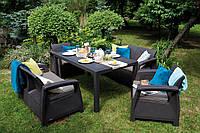 Комплект садовой мебели Corfu Fiesta Set Графит
