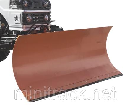 Отвал на мототрактор 1.4 м