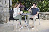 Комплект мебели для балкона Keter CURVER CHELSEA SET (2 кресла + столик) Графит
