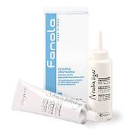 Выпрямляющий крем для волос Fanola 100 мл + 120 мл