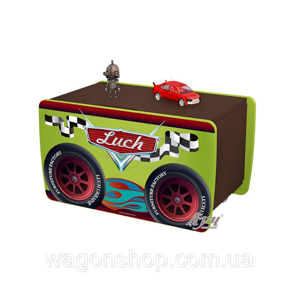 Ящик для игрушек Франческо «Тачки»
