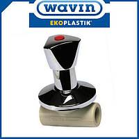 Вентиль под штукатурку проходной Ekoplastik 20мм (SVEPLR020X)
